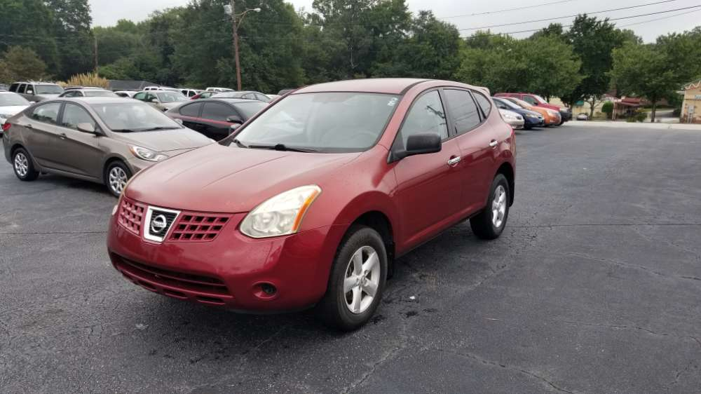 Nissan Rogue 2010 Red