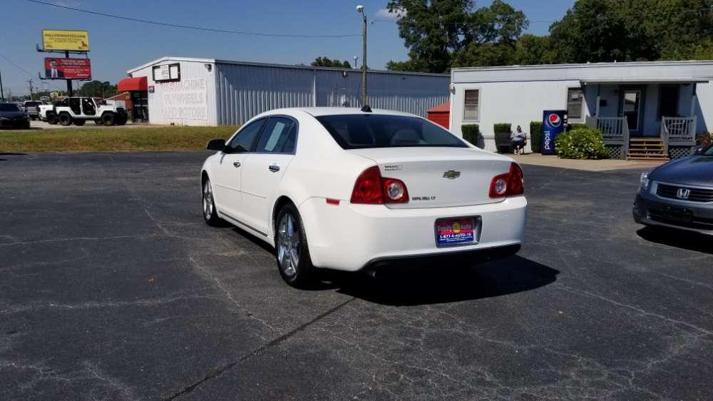 Chevrolet Malibu 2012 White