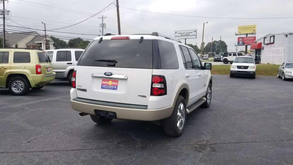 Ford Explorer 2007 White